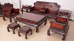 清宝阁小叶紫檀家具的保养问题